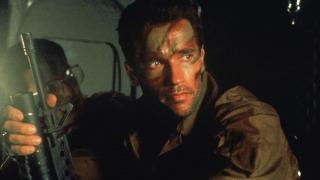 Predator (1987) Directed by John McTiernan Shown: Arnold Schwarzenegger